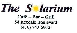 THE SOLARIUM CAFE, BAR AND GRILL